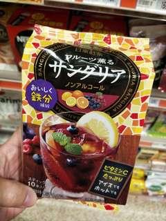 日本採購 日東紅茶  鐵質補充綜合水果茶(10包入) $160元/袋,3袋以上$140元/袋