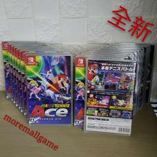 全新Switch Mario Tennis Ace 中日英文版