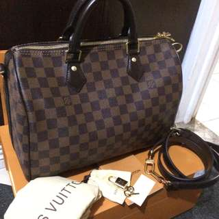 Louis vuitton speedy bandouliere 30 preloved