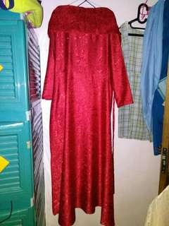 LONG DRES RED