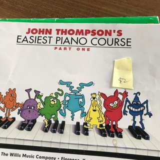 John Thompson easiest piano course book 1