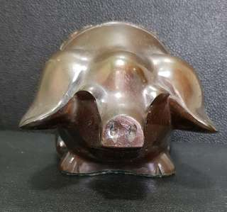 Vintage Piggy Bank of Piggy & Squirrel