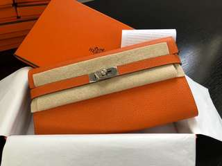 Hermes Long Kelly Wallet