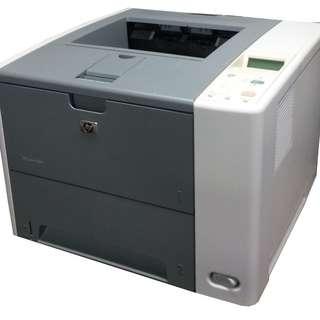HP P3005n 黑白 雷射印表機 有線網路 RICOH FUJIxerox Brother