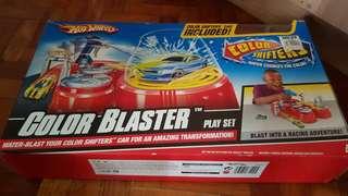 Hot wheels color blaster playset