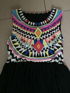 Etnic long dress