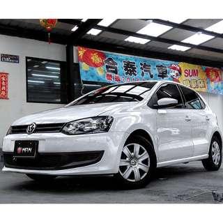 2011 VW POLO 白 1.4
