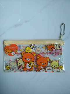 Rilakkuma Pencil Case, Pouch (In Mint Condition, Hardly Used)