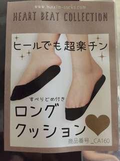 黑色軟鞋墊連襪