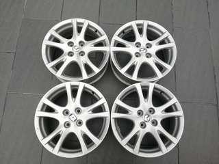 "Mazda 2 16"" Original Enkei Rims"