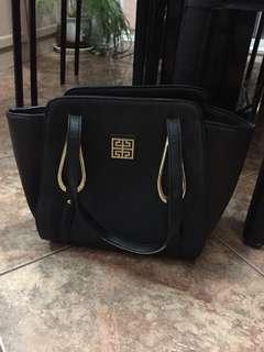 Large Black Purse Bag