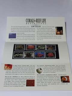 Corals & Reef life stamp