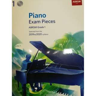 ABRSM Piano 2019-2020 Grade 1 Practical Examination Book with CD  Free Normal Mail