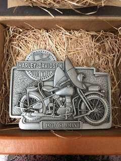 HARLEY-DAVIDSON 皮帶扣