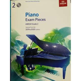 ABRSM Piano 2019-2020 Grade 2 Practical Examination Book with CD  Free Normal Mail