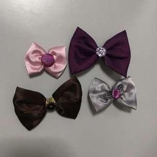 Hairpins ribbon handmade