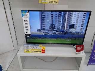 """Panasonic LED TV 32"""" Cicilan Tanpa CC Proses 3menit Cair Free 1x"""