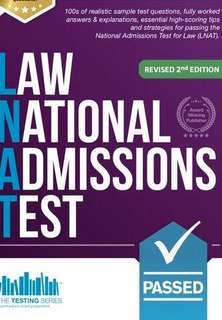 2018 LATEST EDITION LNAT Law National Admissions Test 2nd Edition book for UK admissions