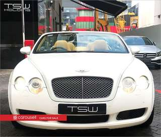 Bentley Continental GT Convertible 6.0A