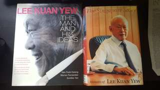Lee Kuan Yew Legend Book