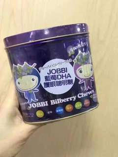 🔝 Jobbi Bilberry chews 藍莓DHA護眼聰明糖