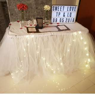 ROM_Wedding Table Setup