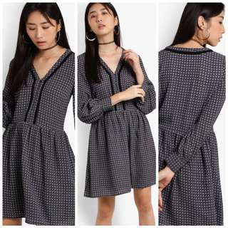Long Sleeve Dress Vintage