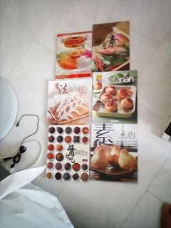 Assorted cooking Books  -  Vegetarians