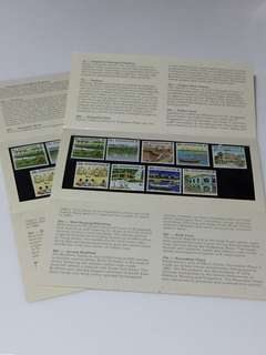 Tourism series stamps