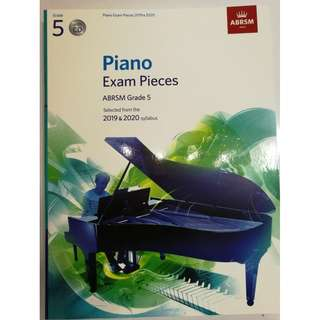 ABRSM Piano 2019-2020 Grade 5 Practical Examination Book with CD  Free Normal Mail