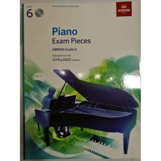 ABRSM Piano 2019-2020 Grade 6 Practical Examination Book with CD  Free Normal Mail