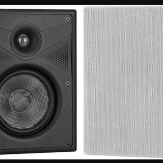 "Crestron ASPIRE IW5-W-T 5.25"" 2-Way In-Wall Speakers"