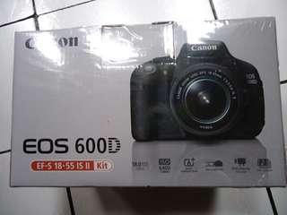Jual kamera canon eos 600d asli dijamin 100% ori