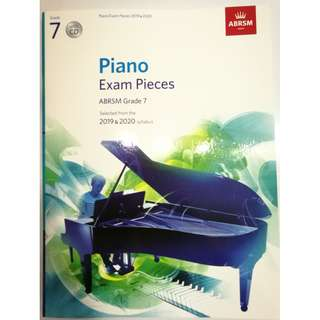 ABRSM Piano 2019-2020 Grade 7 Practical Examination Book with CD  Free Normal Mail