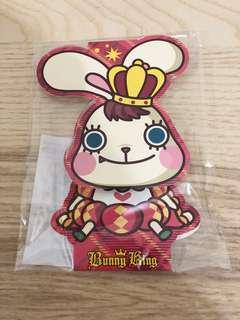 全新 Bunny King post it memo pad 卡通 便條紙