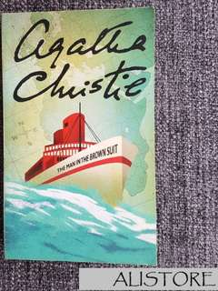 Novel Fiksi The Man in the Brown Suits, 2002, Agatha Christie