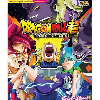 Dragon Ball Super Chapter 1-131 End Anime DVD