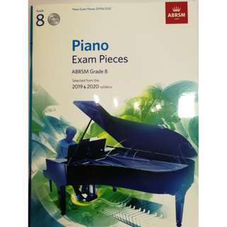 ABRSM Piano 2019-2020 Grade 8 Practical Examination Book with CD  Free Normal Mail