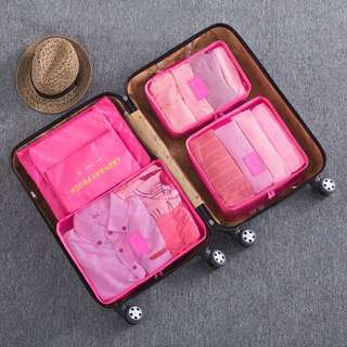 6 pc Set Packing cubes