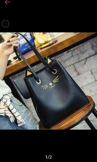 Cute miauw bags