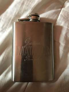 Gran Matador stainless steel liquor flask