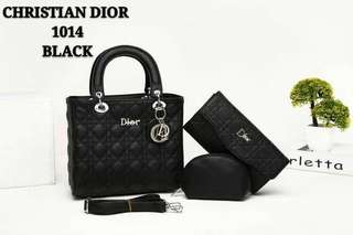 CHRISTIAN DIOR  ( 3  in1 )  1014 Handbag