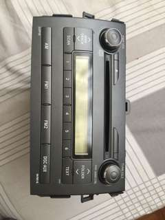 Stock Toyota Altis 2012 Head Unit