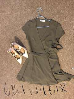 Wrap around dress size 6 will fit size 8-10