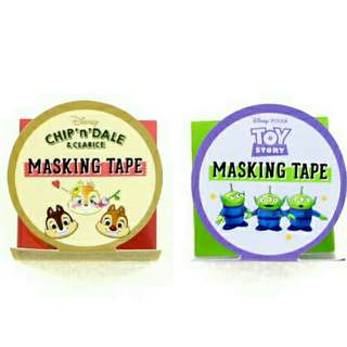 日本 迪士尼 toystory 三眼仔 大鼻鋼牙 和紙膠带 MT 卷裝貼紙
