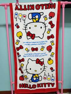 Hello Kitty Milk Bath Towel 1