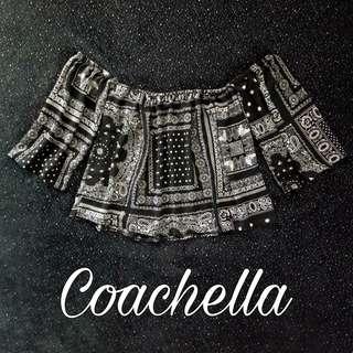 Coachella off shoulder