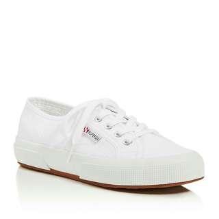 🌸 Authentic White Superga 2750 Cotu Classic