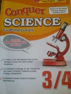 Conquer science lower block