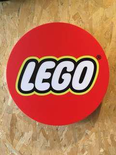 LEGO Signage Lightbox